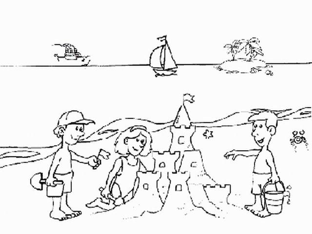 I disegni dell estate for Disegno della casa sulla spiaggia