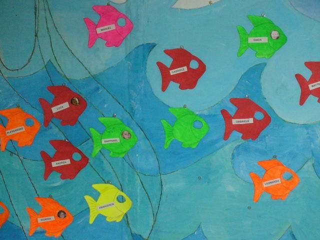 La nostra storia del pesciolino strategie for Pesciolino da colorare