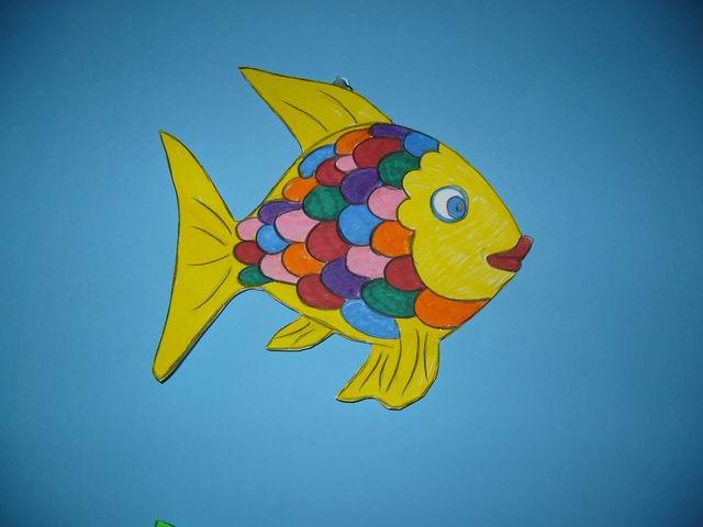 La nostra storia del pesciolino for Pesciolini da colorare per bambini