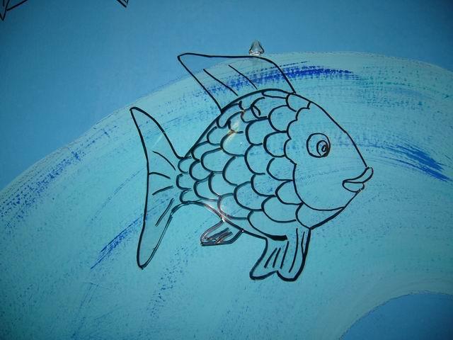 La nostra storia del pesciolino for Disegni pesciolino arcobaleno